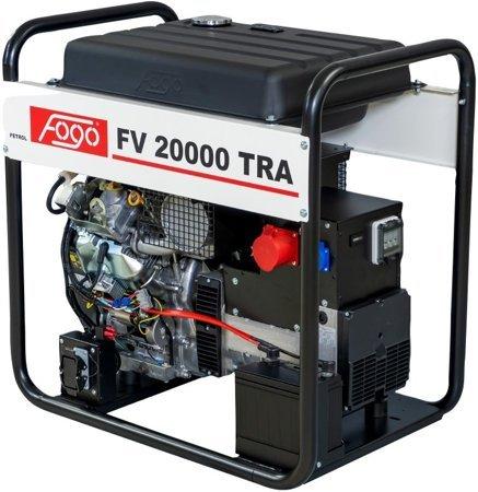 Agregat prądotwórczy FOGO FV 20000 TRA + Olej + Darmowa DOSTAWA